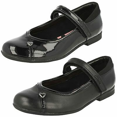 SALE Girls Clarks  Riptape Strap School  Shoe DOLLY SHY INF