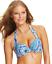 Tommy-Bahama-Womens-Paisley-Print-Halter-Bikini-Top-Surf-Blue-34D thumbnail 1
