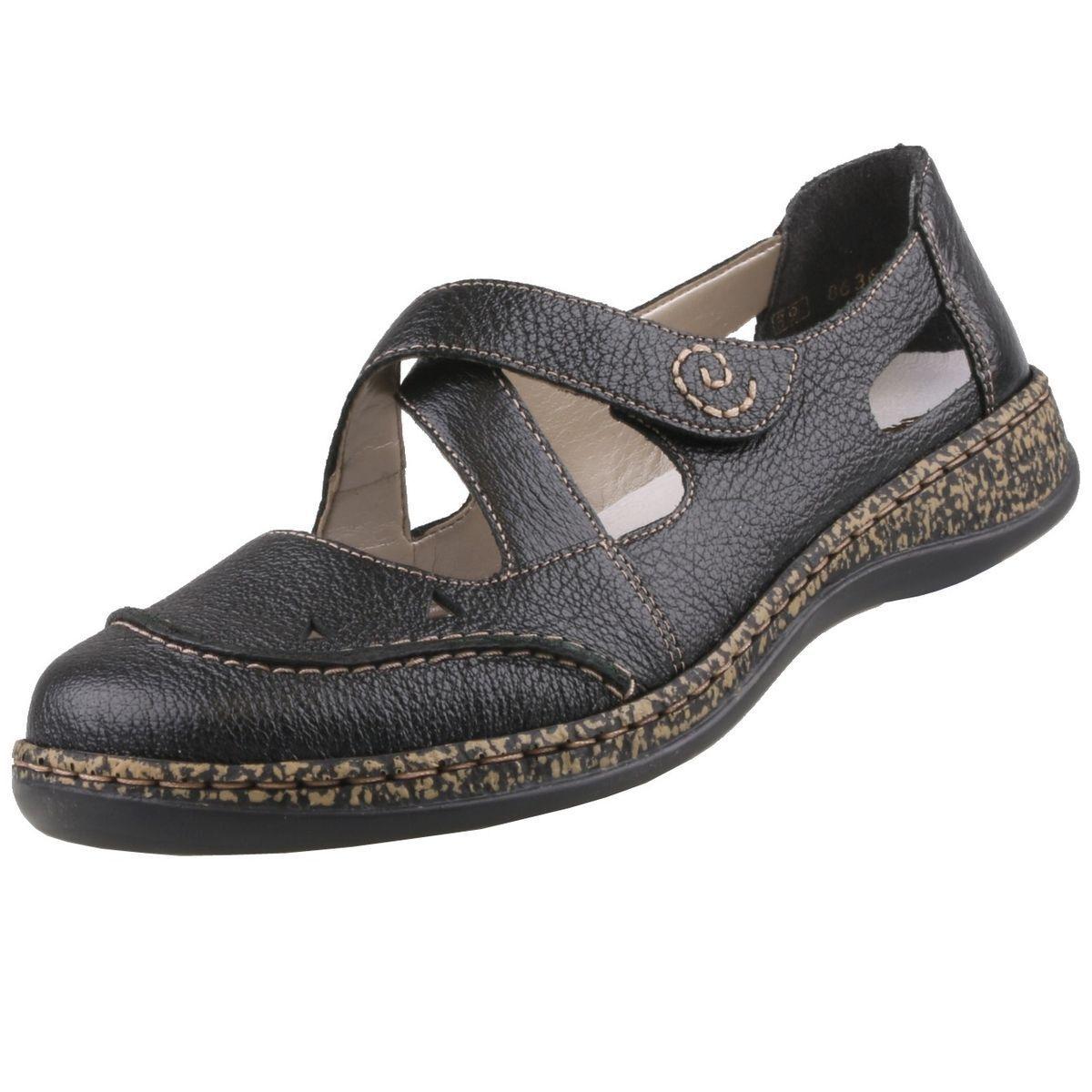 NUEVO Rieker Zapatos mujer Sandalias De Dama Bailarinas Bailarinas Bailarinas cuero  punto de venta de la marca