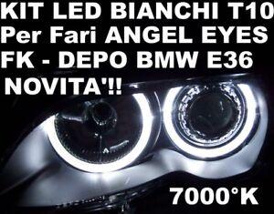 KIT-LED-T10-BIANCHI-per-fari-ANGEL-EYES-BMW-E36-DEPO-FK