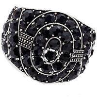 Park Lane paparazzi Bracelet - Hinged Cuff Black - Orig. $215 - Stunning
