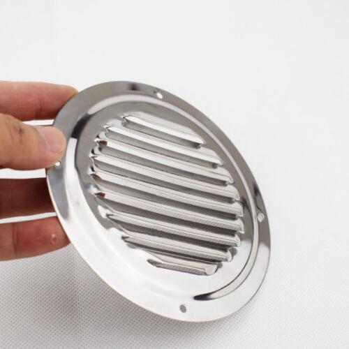"Good 5/"" Round Louvre Air Vent Ventilation Ventilator Grille Cover S.S Marine Sea"