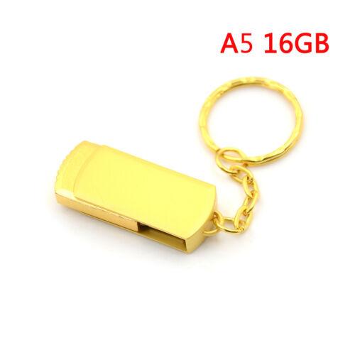 Gold metal key chain usb 3.0pen drive usb flash drive memory stick 4//8//16//32GB P