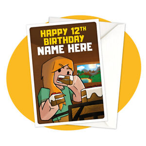 Alex-Eat-PERSONALISED-BIRTHDAY-CARD-Minecraft-themed-gamer-personalized