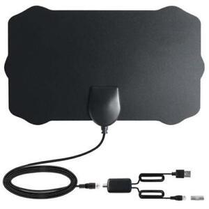Antenna-TV-Interna-Amplificata-Potente-1080P-Digitale-HDTV-200-miglia-Segnale