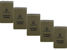 Waterproof Notebook Tactical All Weather Spiral Memo Paper Notepad