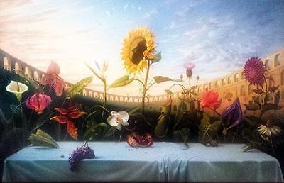 Canvas Art Print Unframed Huge! The Last Supper Da Vinici 80cmX150cm size