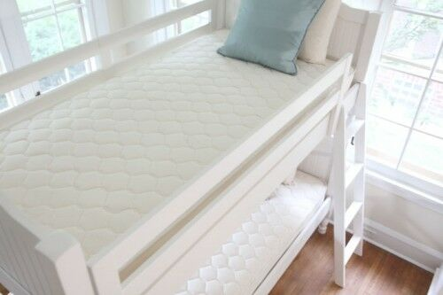Small Bunk Bed Sofa Bed Quilted Mattress Protector Topper Sizes 4FT Bed