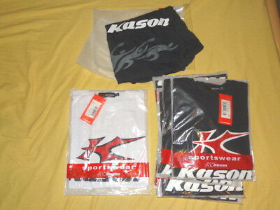 8x Kason Promo-t 1500 Sport Active T-shirt Schwarz Weiß Xl 3 Xl