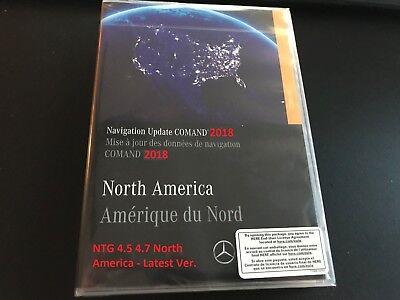 2018 MERCEDES MAP NAVIGATION UPDATE V18 0 NTG 4 5 4 7 COMAND VERSION 18 USB  MB ! | eBay