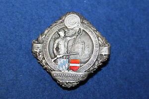 Nr.3928 1930 Silber Orden Schrecklicher Wert Kapselschützenverband Wien Niederösterreich Ca