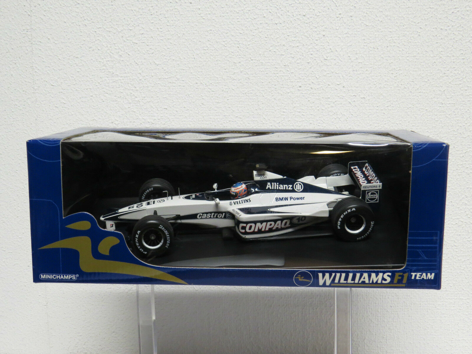 Jenson Button 1 18 Williams FW22 Minichamps 180000010