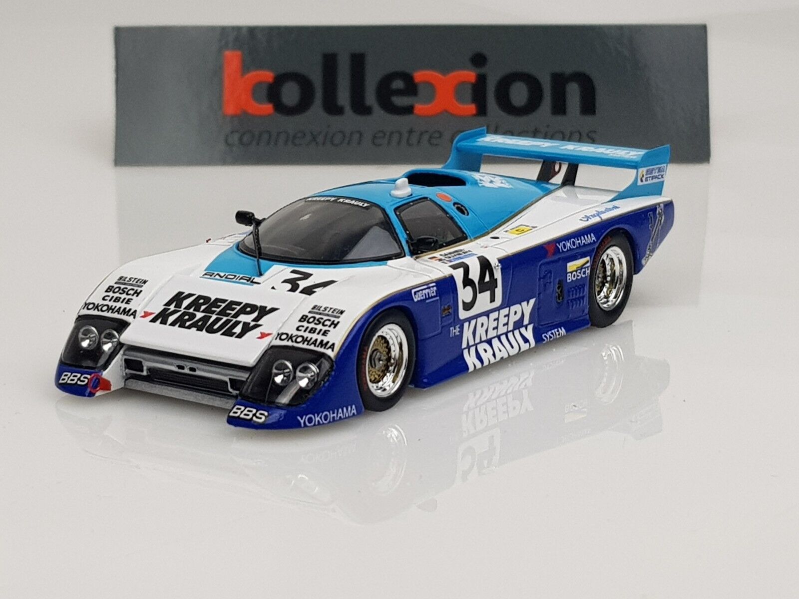 SPARK S4402 MARCH 84 G n°34 Le Mans 1985 1.43