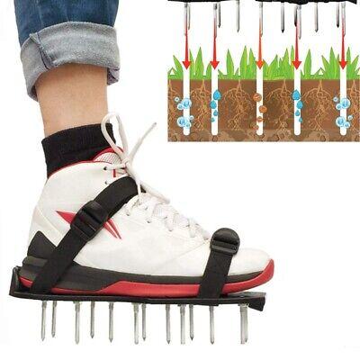 1 Paar Rasenbelüfter Sandalen Rasenlüfter Nagel Schuhe