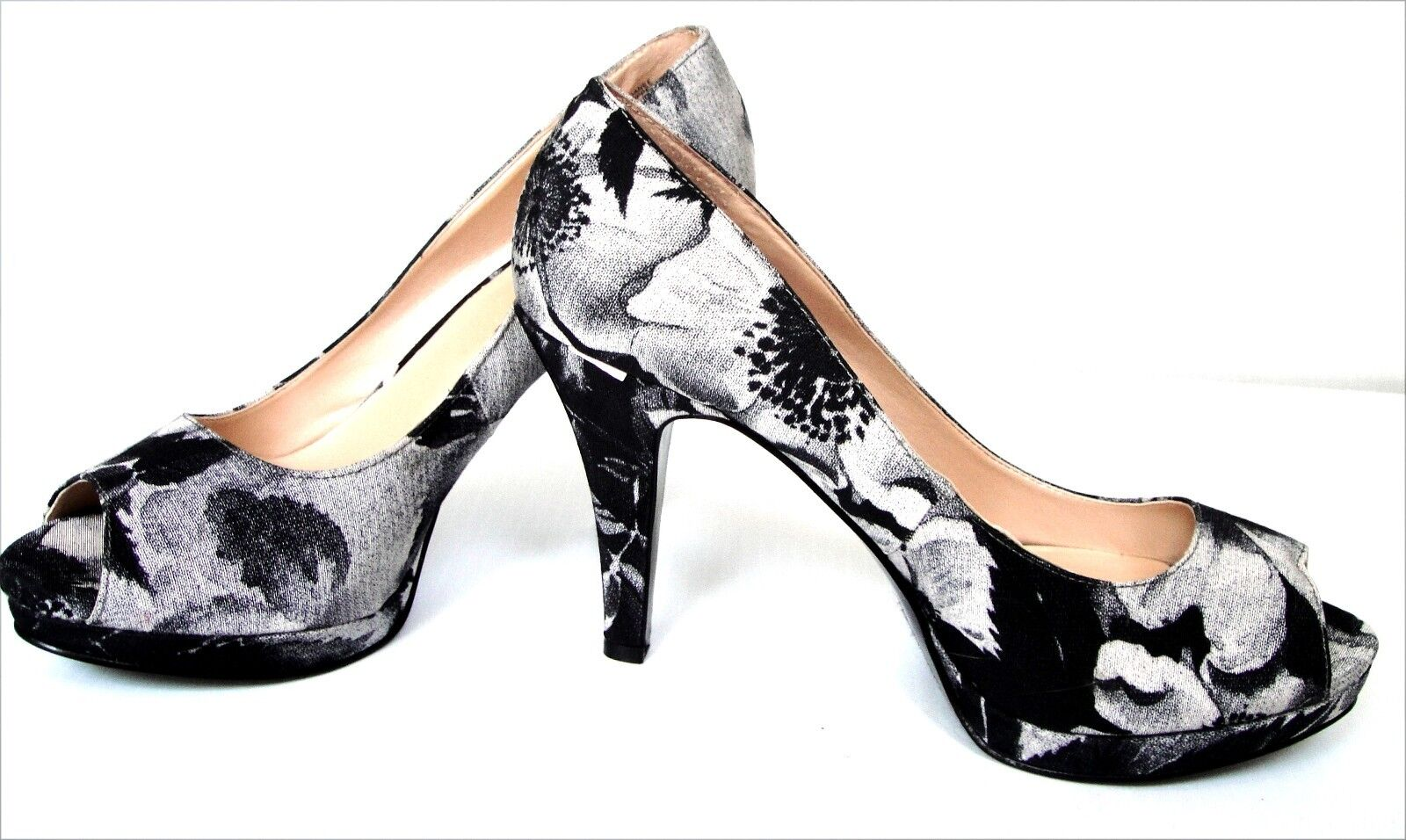 New Nine West West West Danee Women's Peep Toe shoes size 7.5 c1cf53