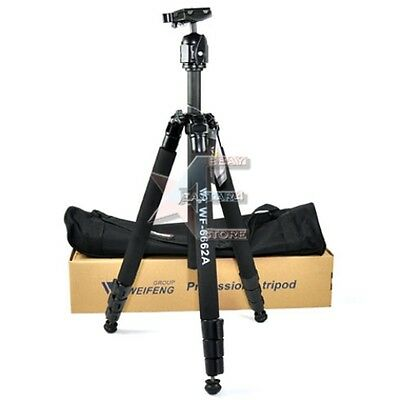 New Pro FANCIER FT-6662A Complete Tripod  with Ball head with Carry bag