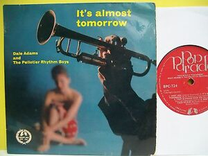 7-VINYL-EP-Its-Only-Tomorrow-by-Dale-Adams-The-Pelletier-Rhythm-Boys-BPC724