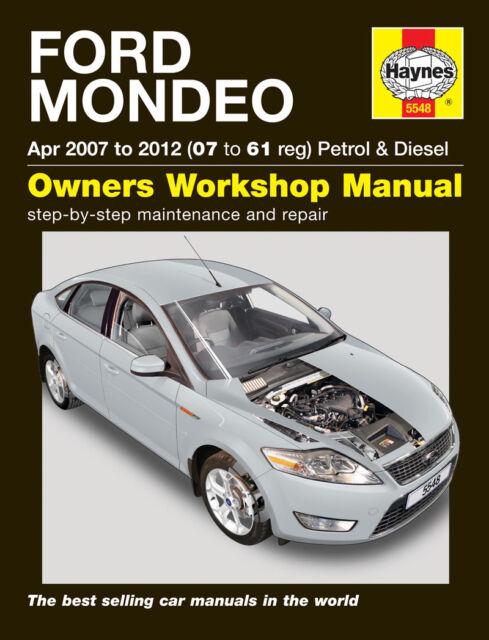 ford mondeo mk4 2007 2012 haynes workshop manual 5548 ebay rh ebay co uk Ford Mondeo 2001 2018 Ford Mondeo