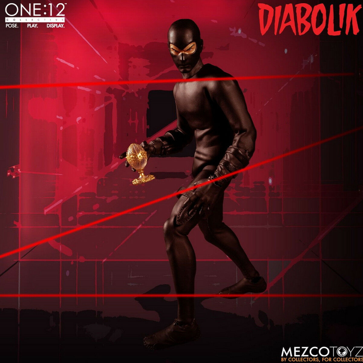 Mezco Toyz 77240 1/12 Scale Diabolik Collective Figure