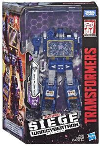 Figurine d'action 7 pouces Transformers Soundwave Voyager Hasbro Toys Nouveau!