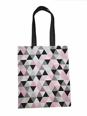 Audace Fatto A Mano Eco Shopping Bag Grocery Riutilizzabile Design Triangoli-mostra Il Titolo Originale Grande Assortimento