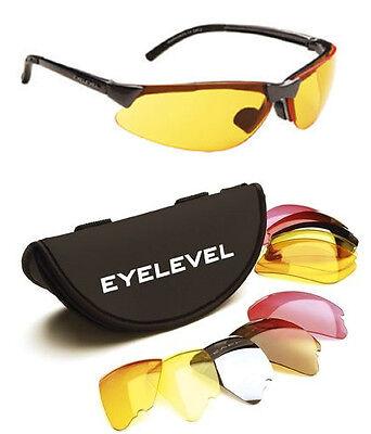 Eyelevel Clay Airsoft Shooting & Fishing Glasses 5 x Shatterproof Lenses UV400