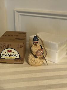 2010 Jim Shore Beach Snowman Hanging Ornament 4018777 With Box Tag Ebay