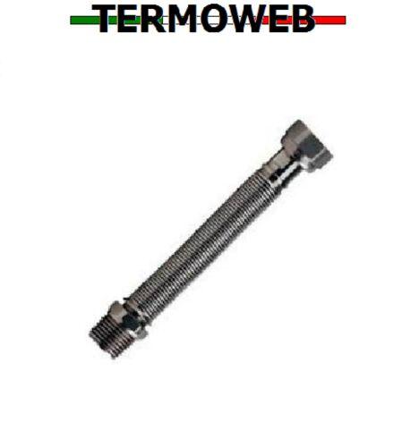 Flessibile giunto inox estensibile per caldaia 1//2-1//2 MF da 200 a 400 mm