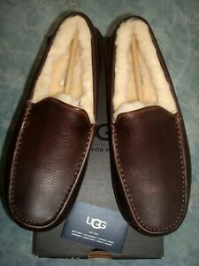 UGG-MEN-039-S-ASCOT-CHINA-TEA-LEATHER-SIZE-9-US-8-UK-42-EU-27-JAPAN