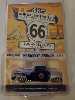 Hot Wheels 33rd Annual Collectors Convention Custom '62 Chevy Pickup