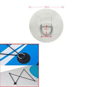 Patch-pour-anneau-en-D-Hypalon-110mm-BLANC-Bateau-pneumatique-HEAVY-DUTY