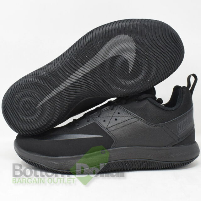Nike Fly by Low Basketball Black White