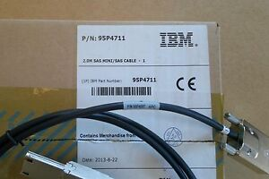 Genuine Dell External 4M SAS Cable SFF-8470 To SFF-8088 HR384