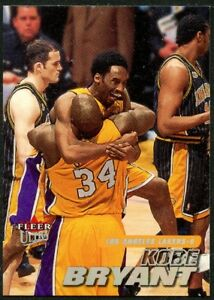 #10 Kobe Bryant 2000 Ultra Basketball Card 2000-01