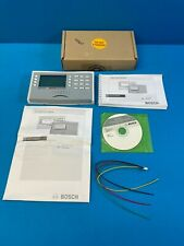 Bosch D1260b Security Alarm System Lcd Keypad White And Gray Modern Case