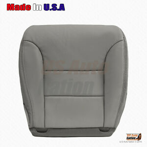 2005 2006 Front PASSENGER Side Bottom LEATHER Seat Cover For Nissan Armada GRAY