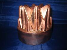 Antique Victorian English Castellated Copper Jelly Mould