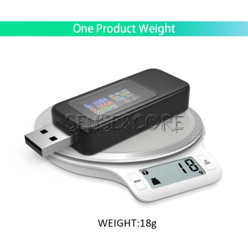 4-30V USB Digital Current Voltage Test Meter Power Capacity Current  Detector