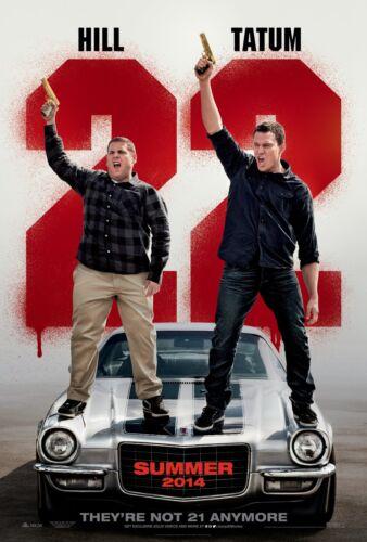 - Channing Tatum 24x36 2014 Movie Poster 22 Jump Street Jonah Hill NEW