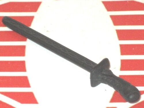 GI Joe Weapon Black Inscribed Katana Ninja Sword Original Figure Accessory