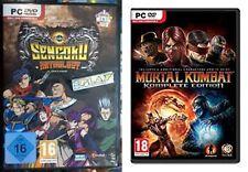Sengoku Anthology & Mortal Kombat Komplete Edition new&sealed