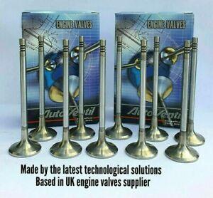 10-INLET-INTAKE-VALVES-FIT-TO-Spider-Alfa-159-Croma-2-4-JTD-20V-55190248
