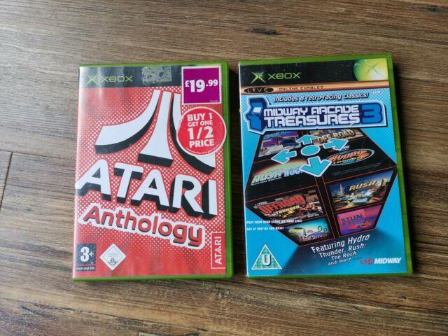 Atari anthologie & Midway Arcade Treasures 3 pour Microsoft Xbox. FREE POST