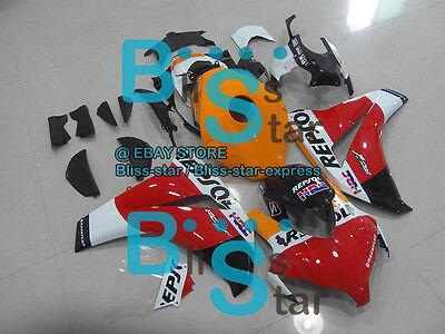 White Red INJECTION Fairing Fit HONDA CBR1000RR 2009 2010 2008-2011 116