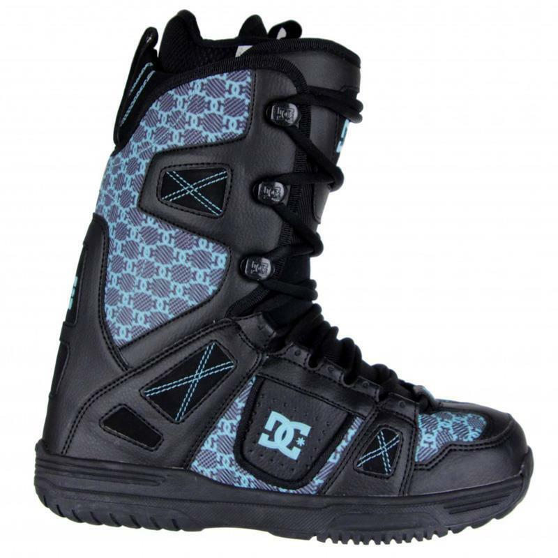 DC Phase Womens Lace Liner Snowboard Boots Size 7 Glacier & burton decal (nio24)