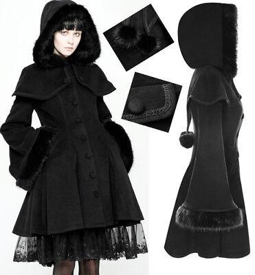 Bluse Ausgestellte Ärmel Gothic Lolita Barock Mode Stickerei Spitze Punkrave