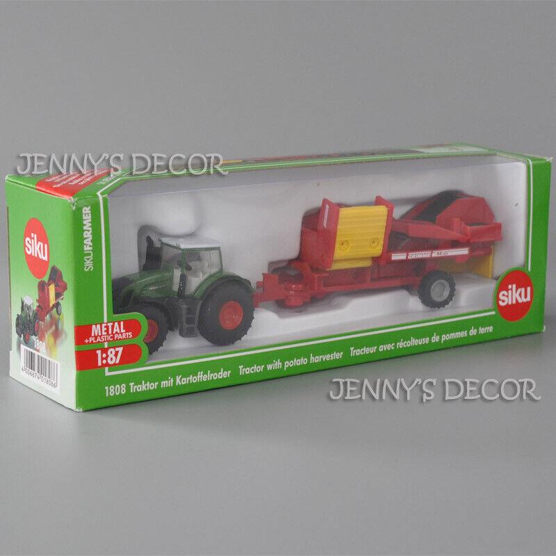 Siku Farmer 1//87 1808 tractor con kartoffelroder-nuevo embalaje original