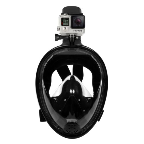 Anti-Fog Full Face Swimming Diving Mask Surface Snorkel Scuba for GoPro L//XL//S//M