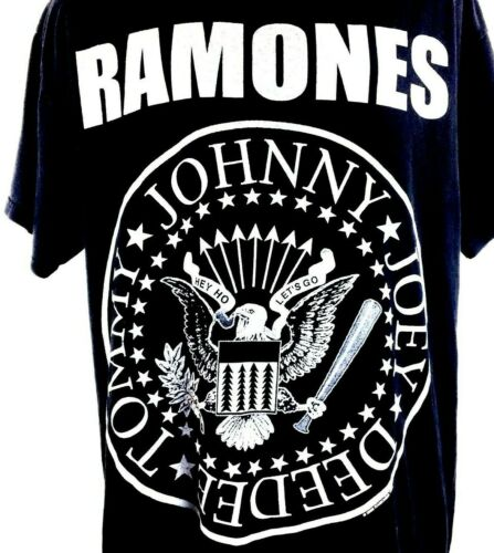 Ramones Shirt 2008 Punk Rock Black tee Punk tee Co