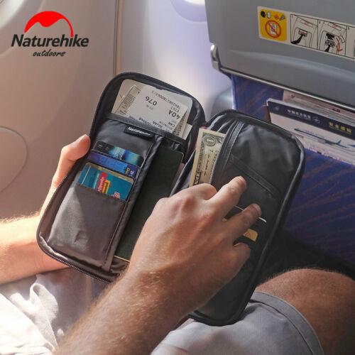 Travel Passport Credit ID Card Cash Holder Organizer Wallet Purse Case Pouch Bag
